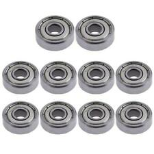 10 unids/lote rodamiento de bolas de brida 5x16x5mm, piezas de impresora 3D