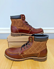 Levi's Men's Spencer Engineer Boot, Brown, Medium Width. #517253-01B. Leather