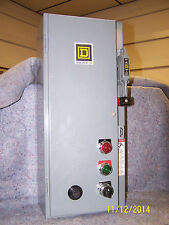 Square D 8538 SCG33V84 Size 1 Fusible Combination Starter