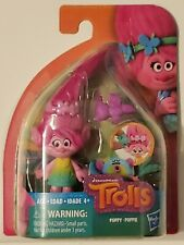 "New ListingTrolls DreamWorks Trolls Poppy Collectible 4"" Figure with Critter Hasbro New"