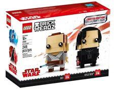 LEGO BrickHeadz Limited Edition Star Wars Rey & Kylo Ren Collector's Pack 41489
