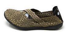 Bernie Mev Womens Margo Mary Jane Slip On Flat Bronze Size 42 EU / 12 US