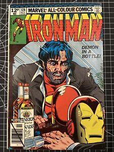 Iron Man 128 - VG/F [4.5-5.0] - Nov '79 - Demon in a Bottle