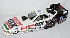 NHRA MUSTANG FUNNY CAR 2001 * CASTROL GTX  * John Force - 1:24