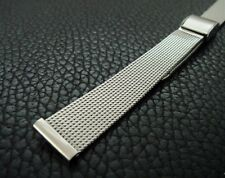 Beautiful Vintage Ladies' NOS 13mm JB Champion Stainless Steel Mesh Band