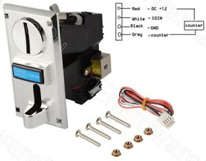 Multi Coin Acceptor Selector - Programmable 6 Coin Type (CS-616)