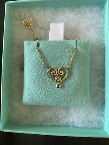 Tiffany And Co Gold Necklace