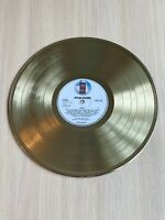 Eagles - The Eagles 1972 Gold Vinyl Record First Press Label