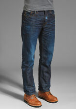 NWT PRPS Goods Co JAPAN Barracuda Straight Men Jeans 30 x 32 SELVEDGE BLUE $250
