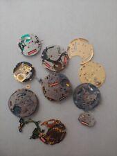 lotto movimenti quarzo crono citizen swatch miyota spare repair vintage watch