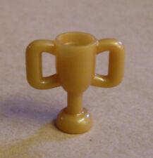 Lego Pokal Trophäe grau silber Zubehör für Figuren Trophy Cup Preis Kelch Neu