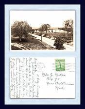 MICHIGAN TRAVERSE CITY REAL PHOTO 7 NOV 1944 TO MISS G. MILLER, NEW BALTIMORE MI