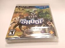 The Shoot  for Sony PlayStation 3 PS3 Brand New and Sealed (Move Required)