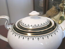"AYNSLEY  ""MIDNIGHT"" TEAPOT LID ONLY EXCELLENT CONDITION"