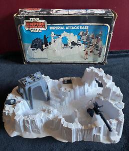 Vintage 1980 Star Wars IMPERIAL ATTACK BASE with Original Box / Kenner ESB