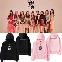 TWICE Unisex Cap Hoodie YES or YES Album Coat Kpop D671