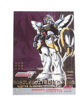 2000 Gundam Wing SERIES 1 UD clear chase INSERT card GC-4 Sandroc! ANIME MANGA!