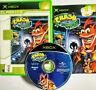 Mint Disc Xbox Original Crash Bandicoot The Wrath Of Cortex Works on Xbox 360