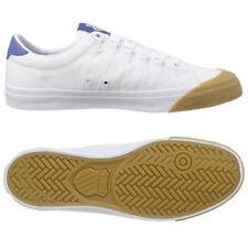 Scarpe casual da uomo bianchi tela , Numero 43