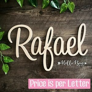 MDF LETTERS 15cm HIGH custom cut, create names/words for party or home decor