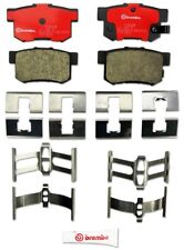 Disc Brake Pad Set-Premium NAO Ceramic OE Equivalent Pad Rear Brembo P28022N