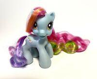 MY LITTLE PONY Hasbro 2008 RAINBOW DASH C-029A G3.5 Glitter Hair MLP Ponies doll