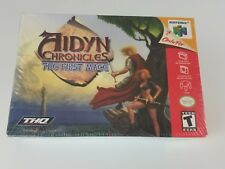 Aidyn Chronicles First Mage Nintendo 64 N64 Game Brand New Sealed Rare