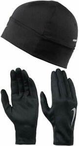 Nike Dri fit Women's Running Beanie And Gloves Se NRC360822 Size XS Was $35