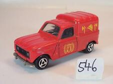 MAJORETTE 1/65 n. 230 RENAULT 4 L pompiers Vigili del Fuoco n. 3 #546