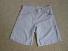 Stone Linen Blend Shorts From Marks and Spencer Size 8