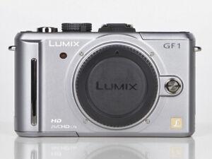 Panasonic LUMIX DMC-GF1 12,0 MP Digitalkamera - silber (Nur Gehäuse)