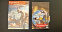 God of War (PlayStation 2, 2005) Complete Tested CIB
