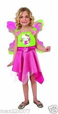 NEW Hello Kitty Butterfly Fairy Costume WINGS size 2 TODDLER spring pretend play