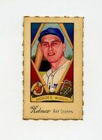 RARE HELMAR Baseball Card: #249 GIL HODGES Brooklyn Dodgers (set break)