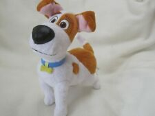 """THE SECRET LIFE OF PETS MAX 8"""" JACK RUSSELL DOG PLUSH SOFT TOY SPIN MASTER"""