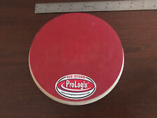 "PROLOGIX 6"" Red Storm/Red Logix Dual-Sided Drum Practice Pad - HARD TO FIND!!!"