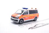 """#094474 - Herpa VW T6 Bus Mannschaftstransportwagen """"FFW Norderstedt"""" - 1:87"""