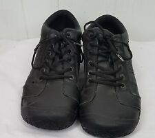 KEEN Utility Men's PTC Oxford Work Shoe size 13 black lace tie