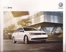 2012 12 VW Jetta oiginal Sales brochure MINT
