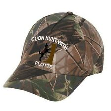 Cap Hat Oak Camo Plott Treeing Coon Hound Coonhound Dog Hunter Hunting