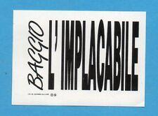 JUVE NELLA LEGGENDA-Ed.MASTER 91-Figurina/ADESIVO FUORI RACCOLTA n.4 -NEW