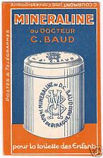 France carnet n° 188-C 1, MINERALINE, couverture