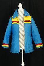 Vintage JCPenney Jacket Men's Large Metal Zip Up Multi Color