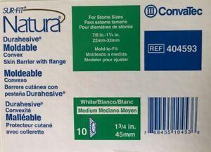 ConvaTec 404593 SUR-FIT Natura Durahesive Moldable Convex Skin Barrier 1 3/4 in.