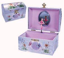 Iridescent Fairy Muscial Jewelry Box Music NEW IFJB