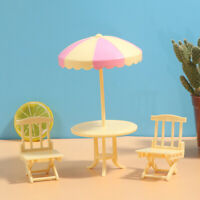 Mini Beach Lounge Chair 1:12 Doll House Simulation Model Play House Toy YK