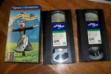 THE SOUND OF MUSIC Starring JULIE ANDREWS 1994 GOLDEN ANNIVERSARY 2 VHS TAPES