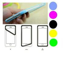 Silicone Phone Gel Frame Cover Screen Corner Edge Rubber Slim Protection Case