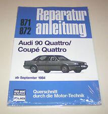 Reparaturanleitung Audi 90 Quattro Typ 85 / Coupe Quattro - ab 1984!
