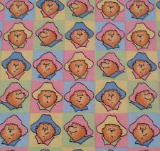 Paddington Bear BTY Quilting Treasures Bear Head Block Pattern